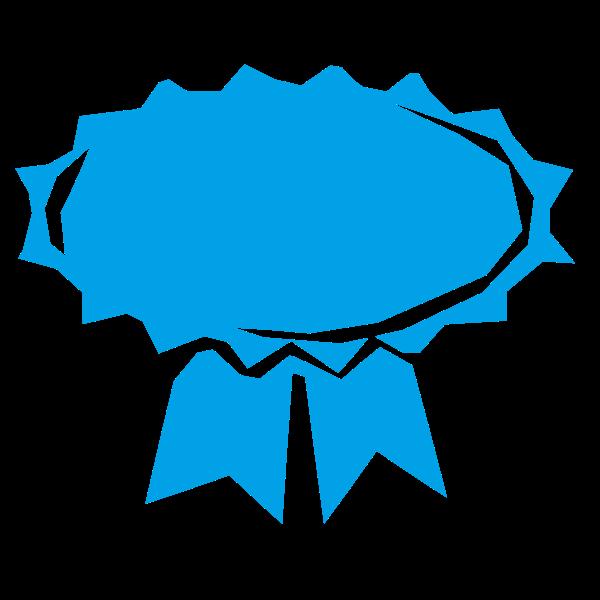 Award ribbon refixed
