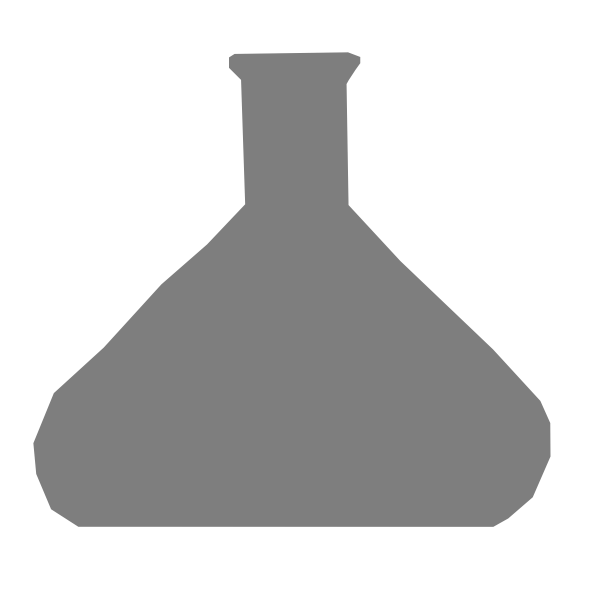 Gray beaker