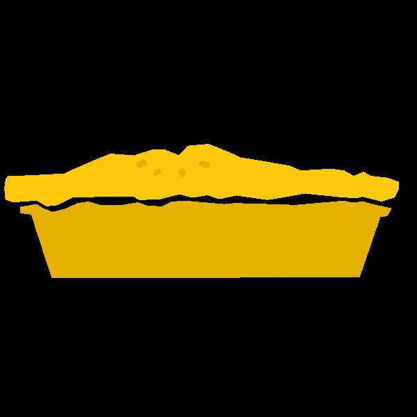 Pie refixed