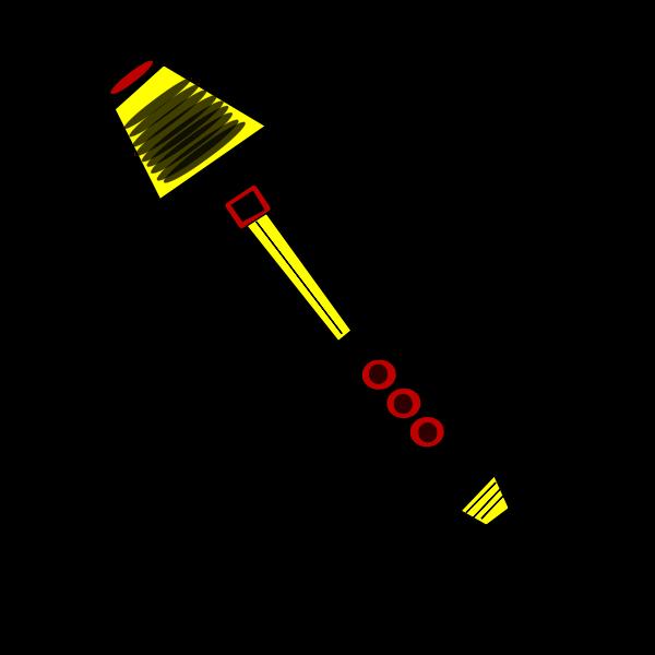 Lapicero robotico con vista superior