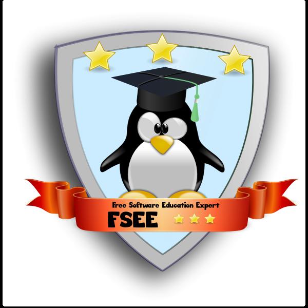 Free Software Education Expert Bagde