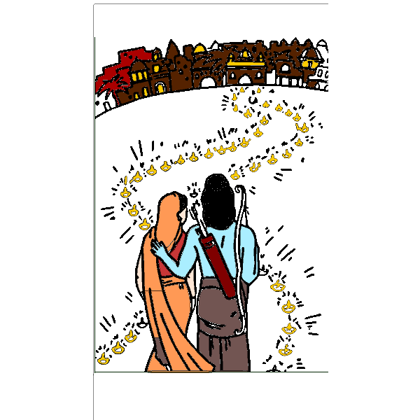 Ayodhya (Ram and Sita) Diwali