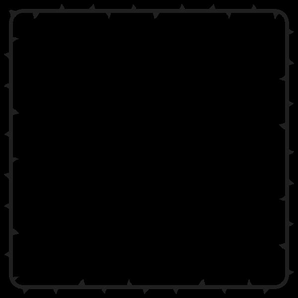 Thorns frame image
