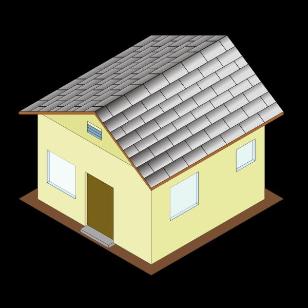 Isometric house icon