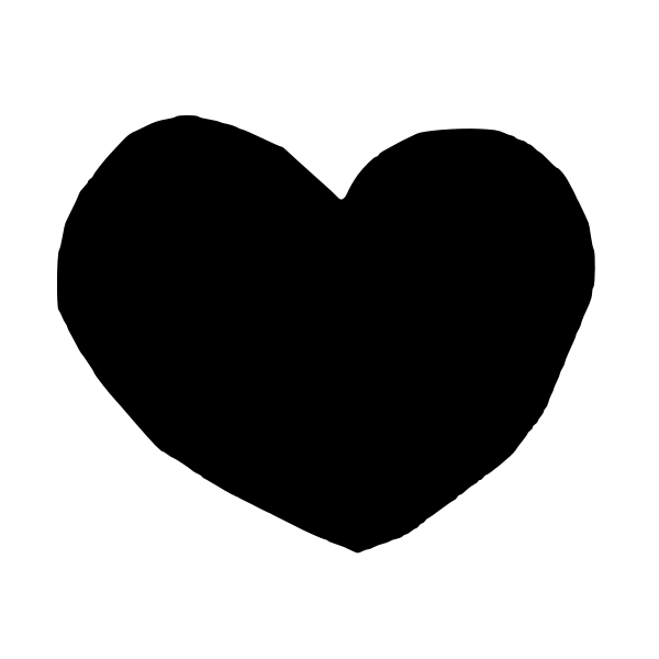 Heart silhouette (#5)