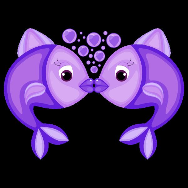 Blue Fish Love