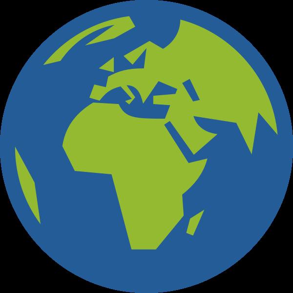 Earth simple icon