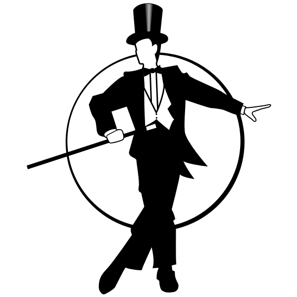 Gentleman's silhouette