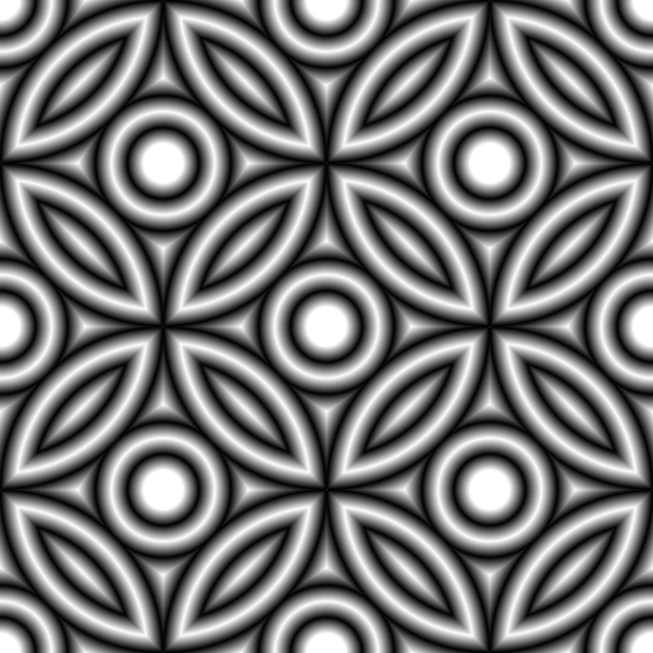 Gray circle pattern