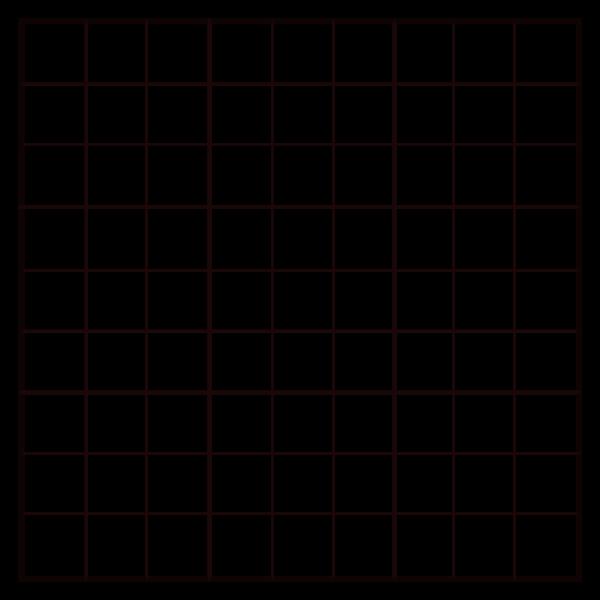9x9 Empty Sudoku Grid