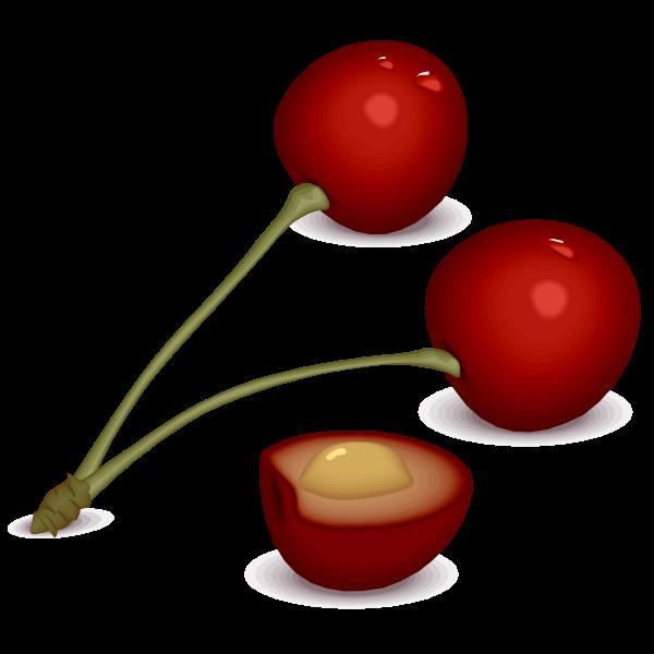 Simple cherries image