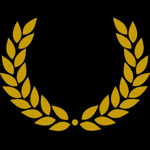 Dark gold laurel