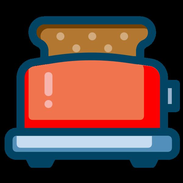 Toaster symbol