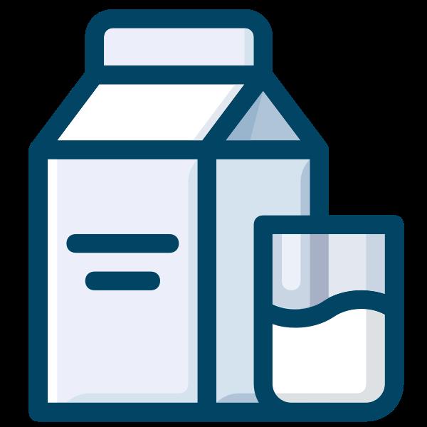 Milk symbol