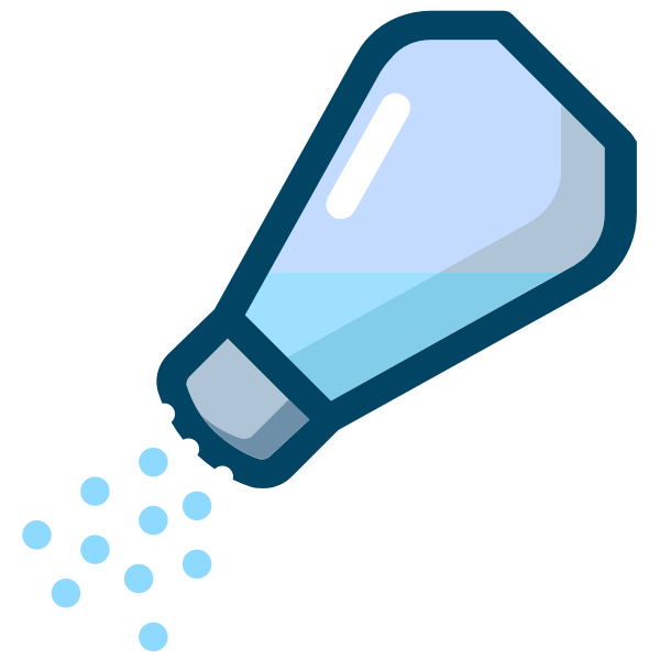 Sipping salt