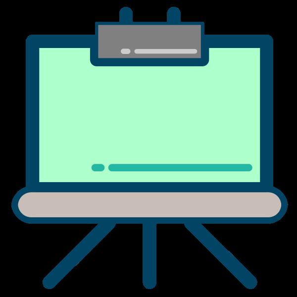 Writing board icon