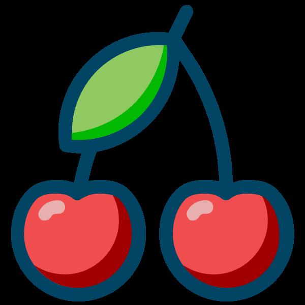 Cherries vector image