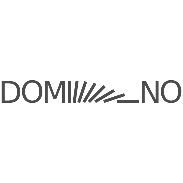 domino logo text