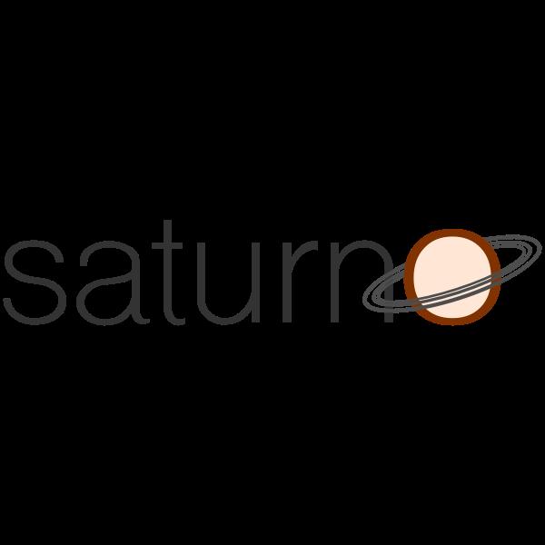 Saturn text logo