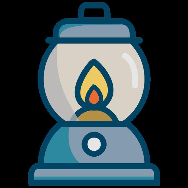 Oil lamp image
