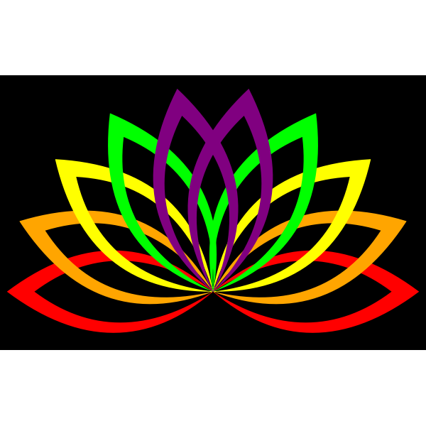 Animated Lotus Flower