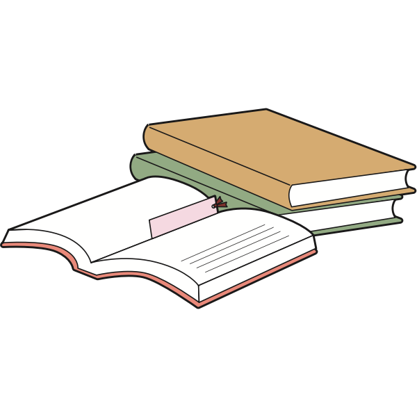 Closed and opened books
