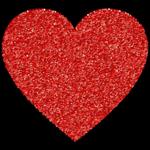 Red Dot Heart