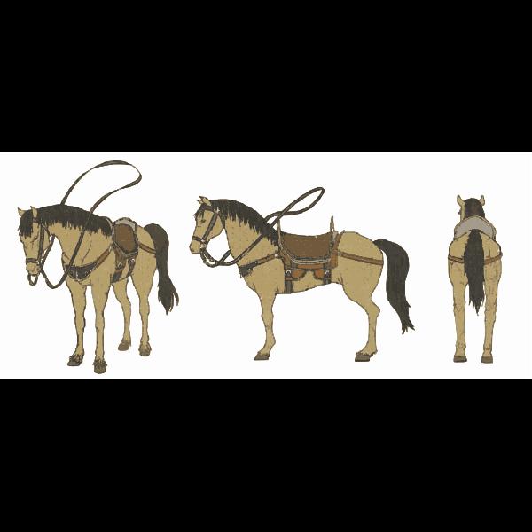 Horse 3 (Cream)