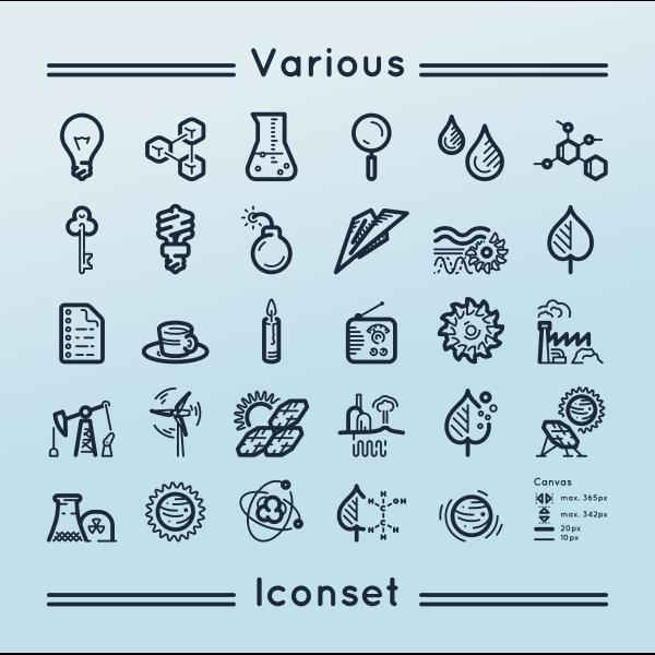 Various iconset 2
