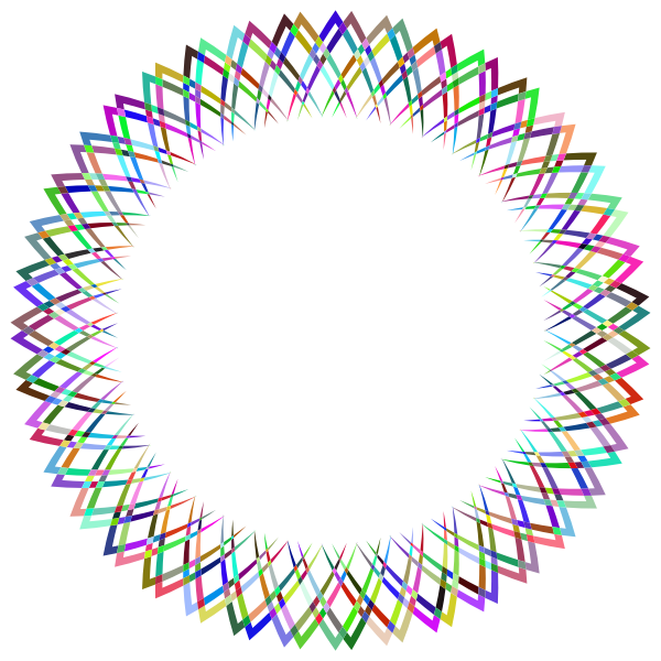 Abstract Geometric Frame I Prismatic 2