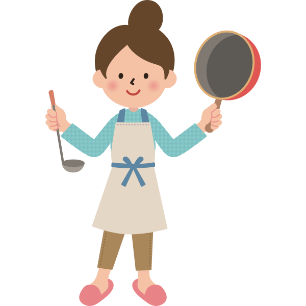 Lady and A Frying Pan