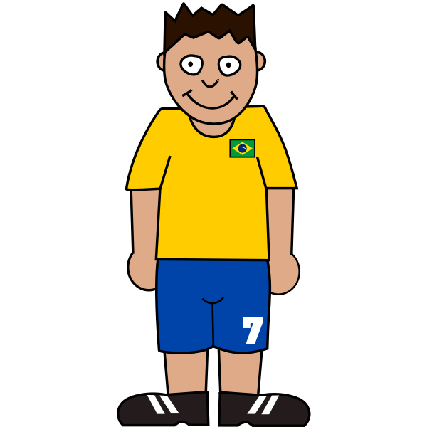 Football player from Brasil