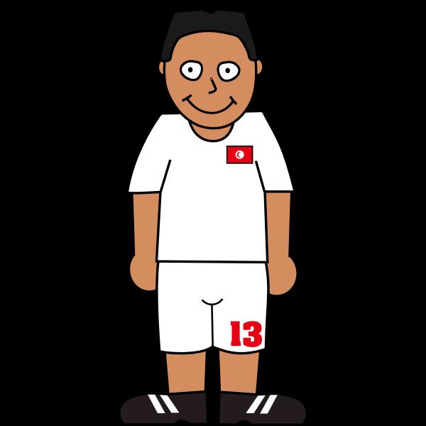 Football player tonosia