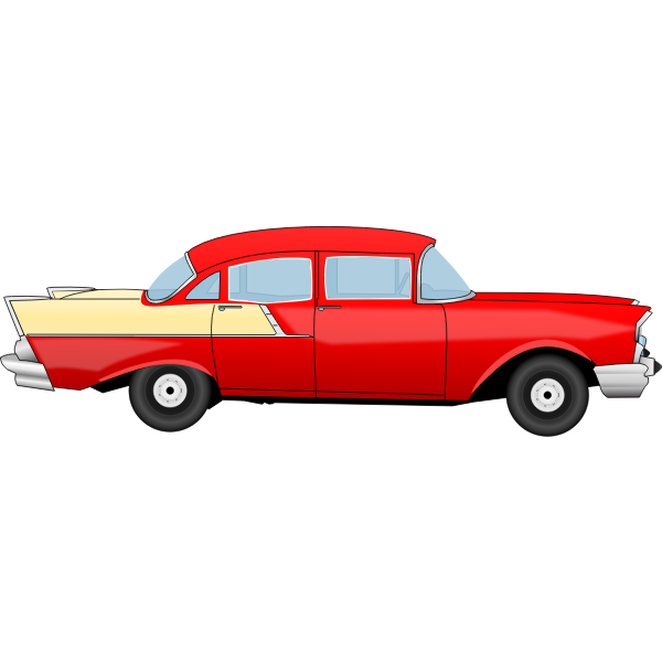 Chevrolet 55 old classic car