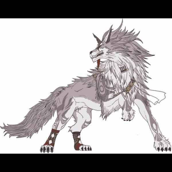 Wild fictional creature