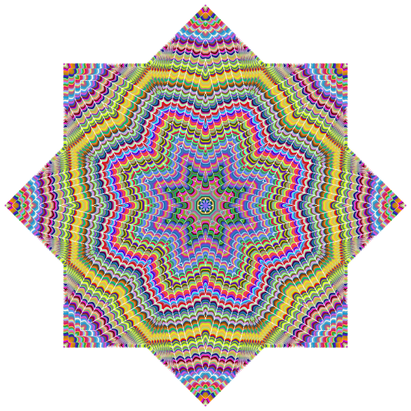 Geometric Prismatic Star