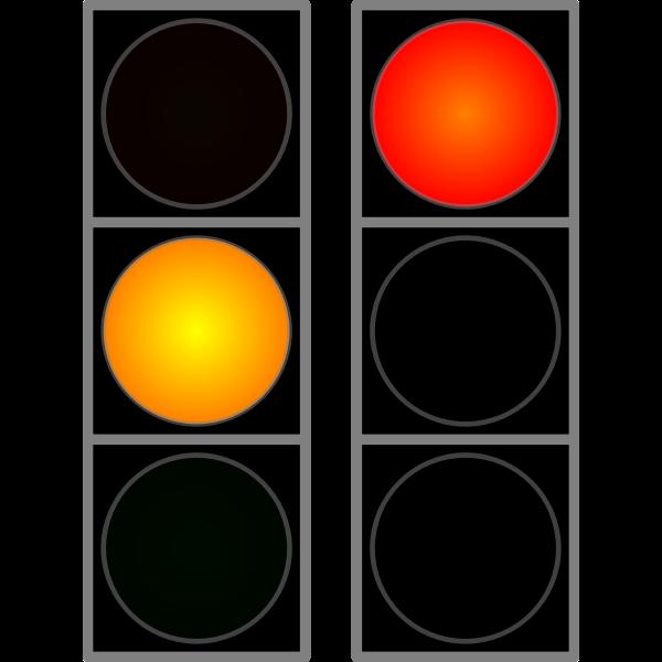 Verkehrslichtsignalanlage Animation