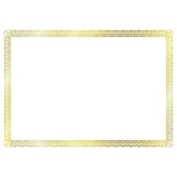 Certificate Border (A$ size)