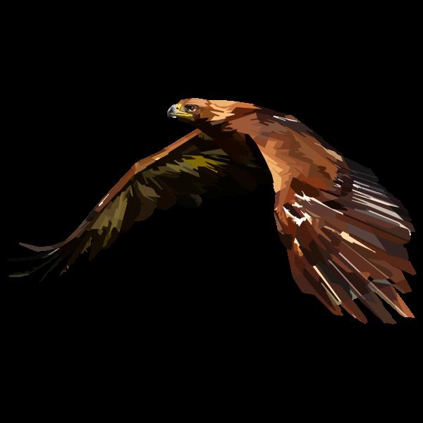Geometric Hawk By Peri Priatna