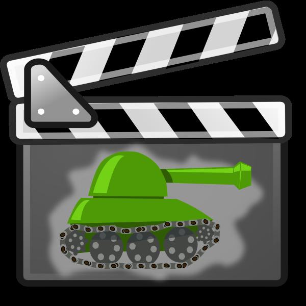 War movie vector image