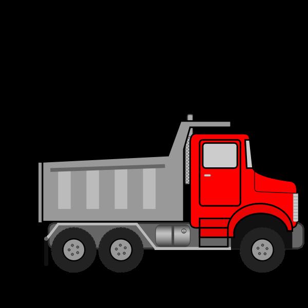 Dump Truck Animated