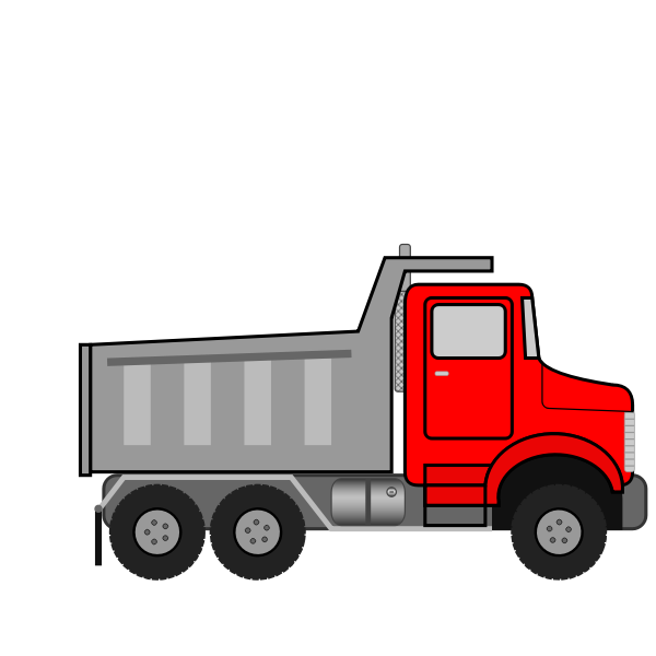 Dump Truck Animated