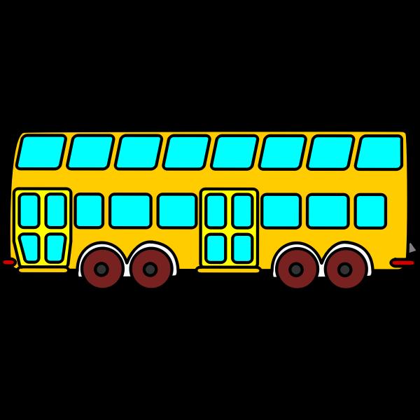 (Doppeldecker) bus