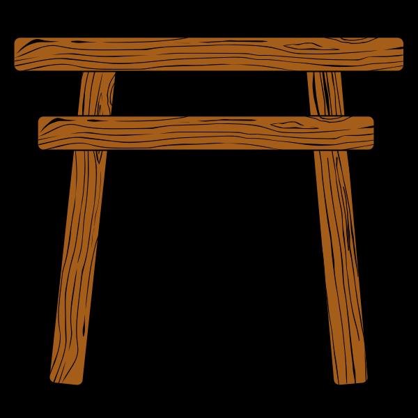Wood Torii