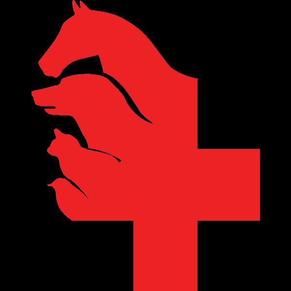 Animal hospital symbol