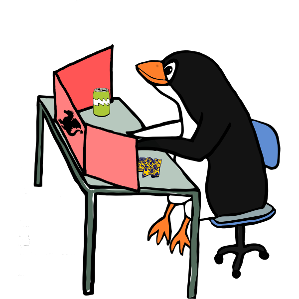 Penguin dungeon master