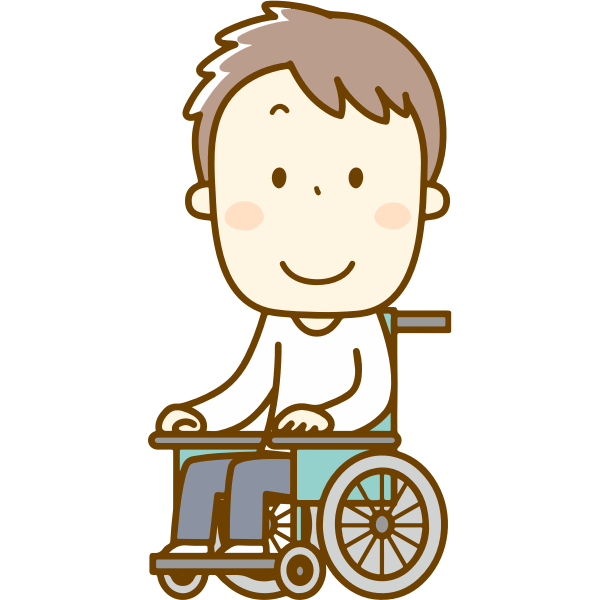 Male in Wheelchair (#2)