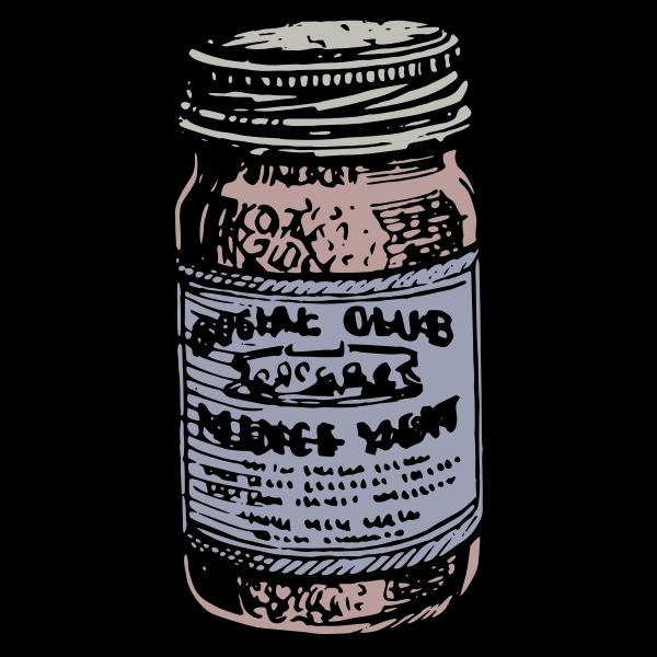 Jar of Food - Colour