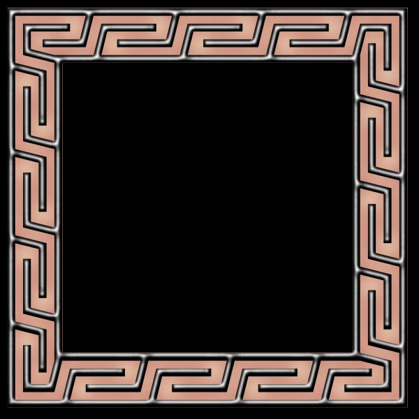 Greek key frame (version 2)