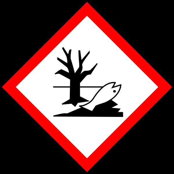 Pictogram for environmentally hazardous substances